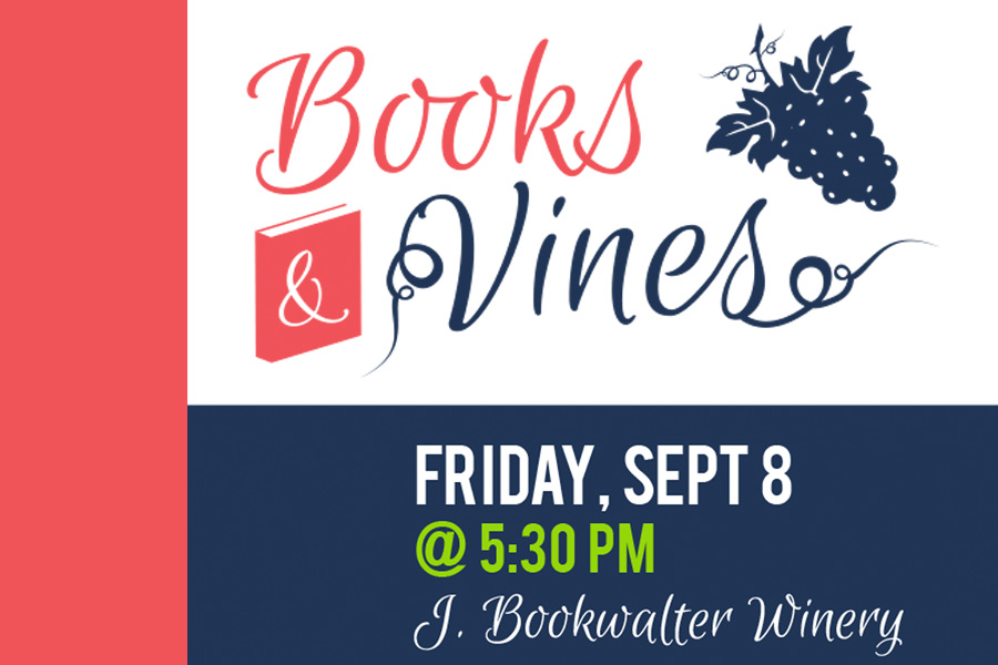 Books and Vines 2017 - Save the Date Promo - Mobile