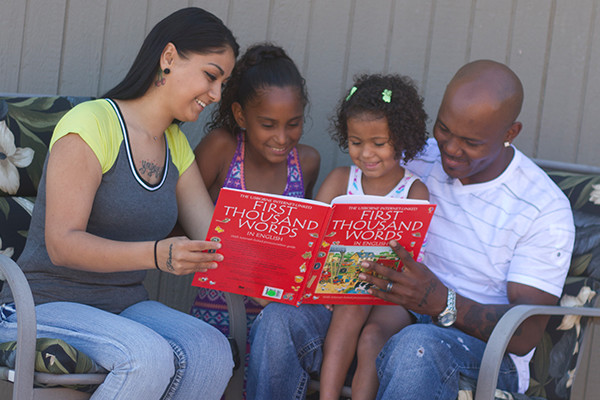 Reading to older children continues to have major benefits
