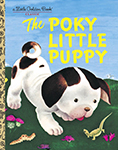 "Cover of the children's book ""The Poky Little Puppy"""